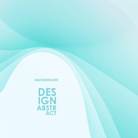 Abstract wavy background, blue waved lines for brochure, website, flyer design