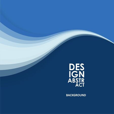 Abstract wavy background, waved lines for brochure, website, flyer design
