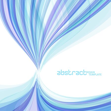 Abstract wavy background, colorful waved lines for brochure, website, flyer design