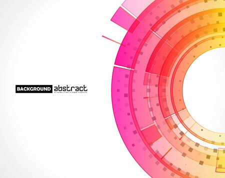 Abstract technology background. Graphic concept for your design