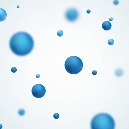 Abstract molecules design. Graphic illustration for your design