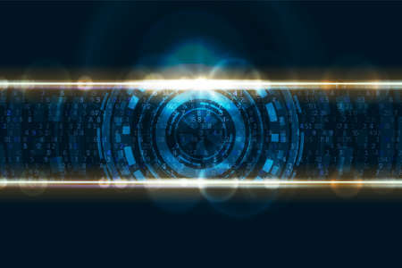 Abstract technology background. Digital innovation concept for your design. Stockfoto - 151046571
