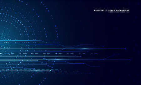 Abstract technology background. Digital innovation concept for your design.