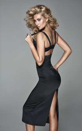 Portrait of a sensual and elegant blonde
