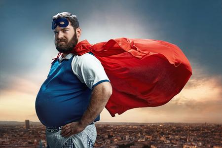 muž: Legrační portrét chrániče Reklamní fotografie