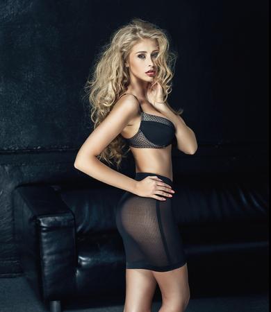 beautiful body: Beautiful woman wearing sensual underwear