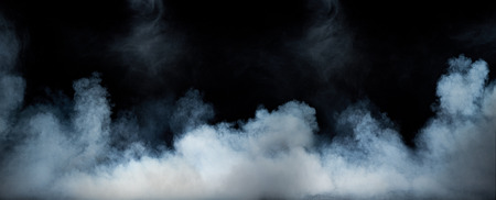 Image of a swirling dense smoke