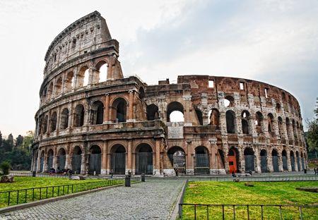 Coloseum,Rome Stock Photo