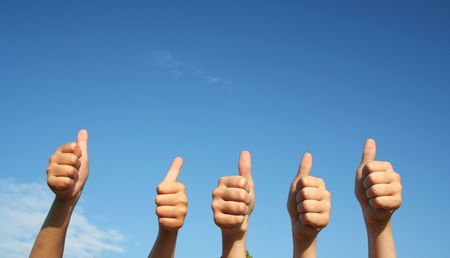 Thumbs up Stock Photo - 7232976