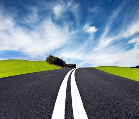 Road ahead Stock Photo - 7786982