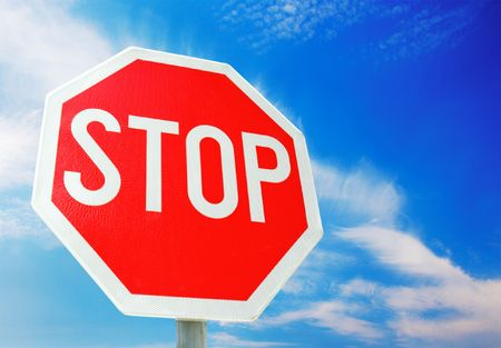 Stop Sign  Stock Photo - 8162346