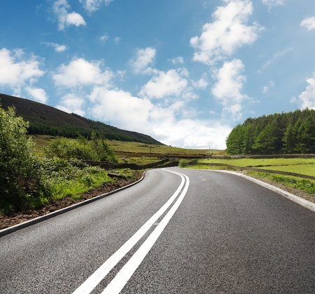 landscape road: road trip