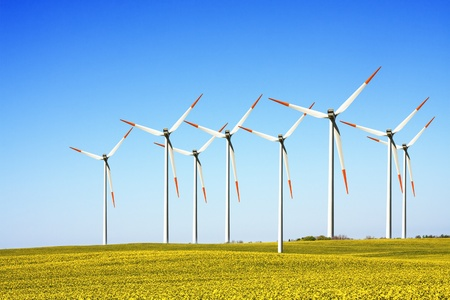 windmills, clean energy photo