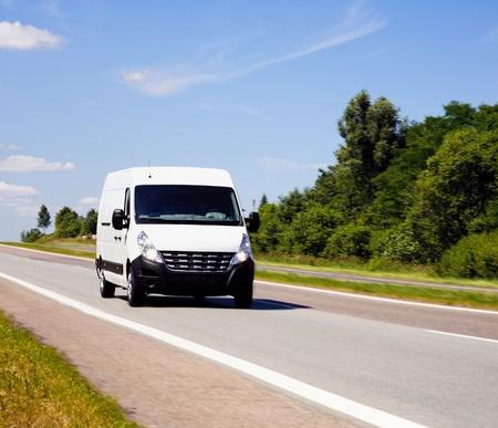 forwarding: Van de entrega blanco