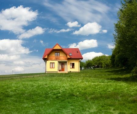 새로운 단독 주택