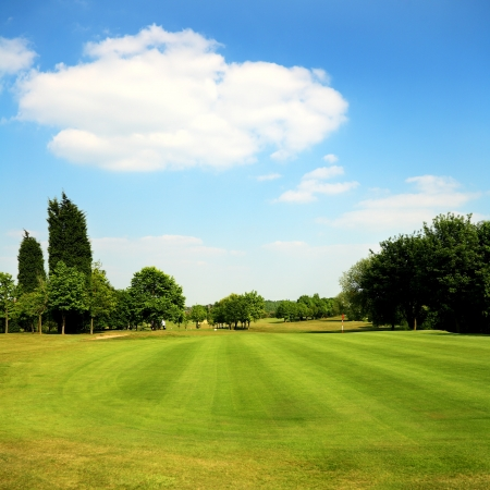 Golf course Stock Photo - 9553128