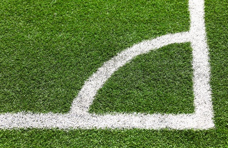 Artificial Turf on a Sports Field photo