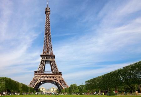 Eiffel Tower, symbol of Paris Stock Photo - 9614229