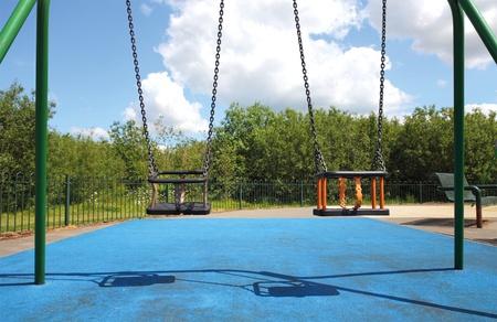 childrens playground,swing photo