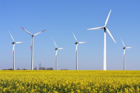 풍력 터빈 - 대체 및 녹색 에너지 원