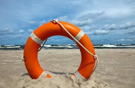 buoyant: Lifebuoy Stock Photo