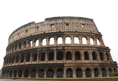 Colosseo di Roma Archivio Fotografico