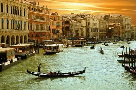 italy street: Venice, Grand Cana