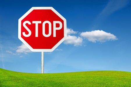 Stop sign Stock Photo - 11479230