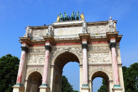 carrousel: Arc de Triomphe du Carrousel, Paris, France
