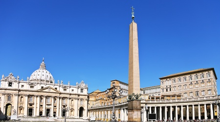 peter: The Basilica of St. Peter, Rome Stock Photo