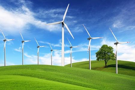 풍차, 대체 에너지 스톡 콘텐츠