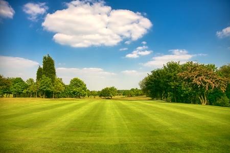golfcourse: Golf park, Yorkshire,uk