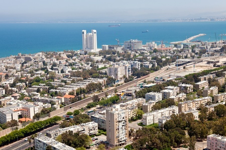 View of Haifa, Israel Stock Photo - 13323643