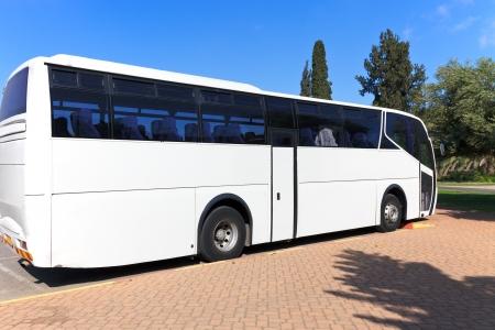 tour bus: Bus travel Stock Photo