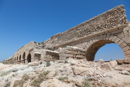 ceasarea: Ancient Roman aqueduct in Ceasarea