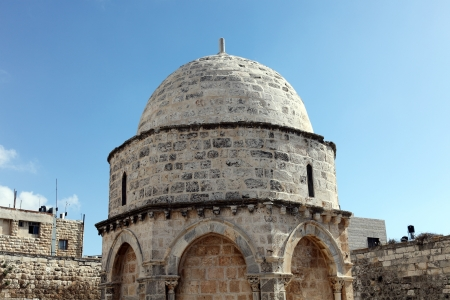 Chapell of the Ascension of Jesus Christ, Jerusalem  photo