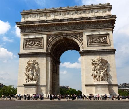 parisian: Arch of Triumph, Paris, France