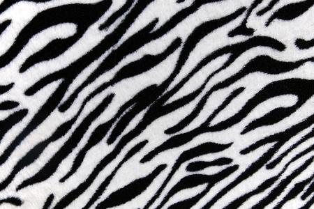 Glamorous zebra skin print