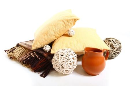 milkman: Pillows, plaid, balls and milkman