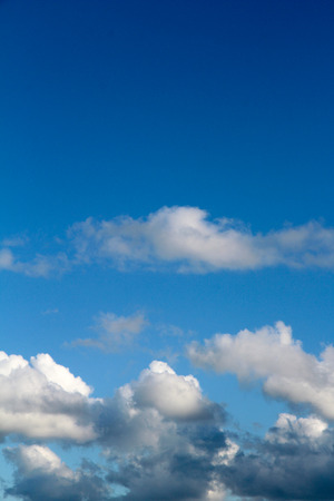 Sky with clouds panorama Stock Photo