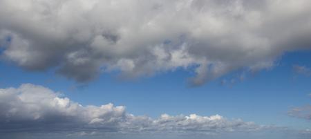 clouds panorama Stock Photo