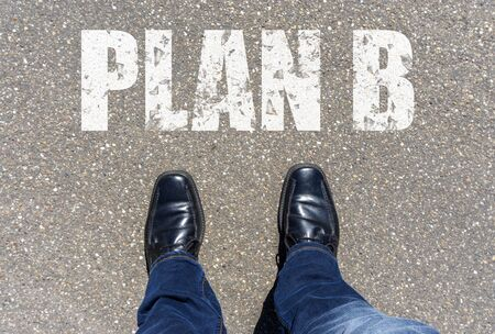 Plan B Stock Photo