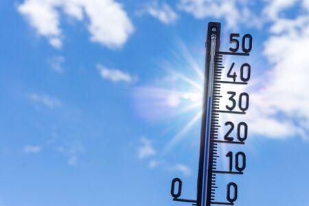 Heat wave in summer Archivio Fotografico