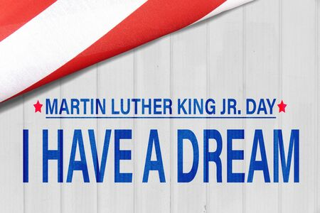 Happy Martin Luther King Day Background