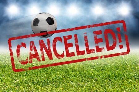 Sport event canceled because of coronavirus outbreak