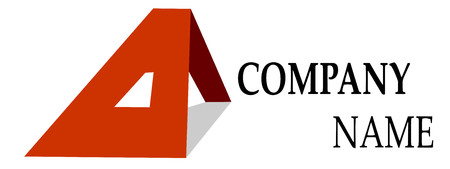 Vector colored company on white background