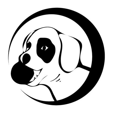 black and white: black and  white animal on white background