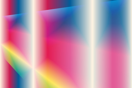 Vector illustration abstract colorful background with curve