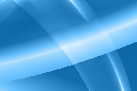Vector illustration abstract blue background with glow curve