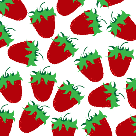 Vector illustration of painted raspberries on white background. Symbol of fruit, food,vegetarian,vegan.